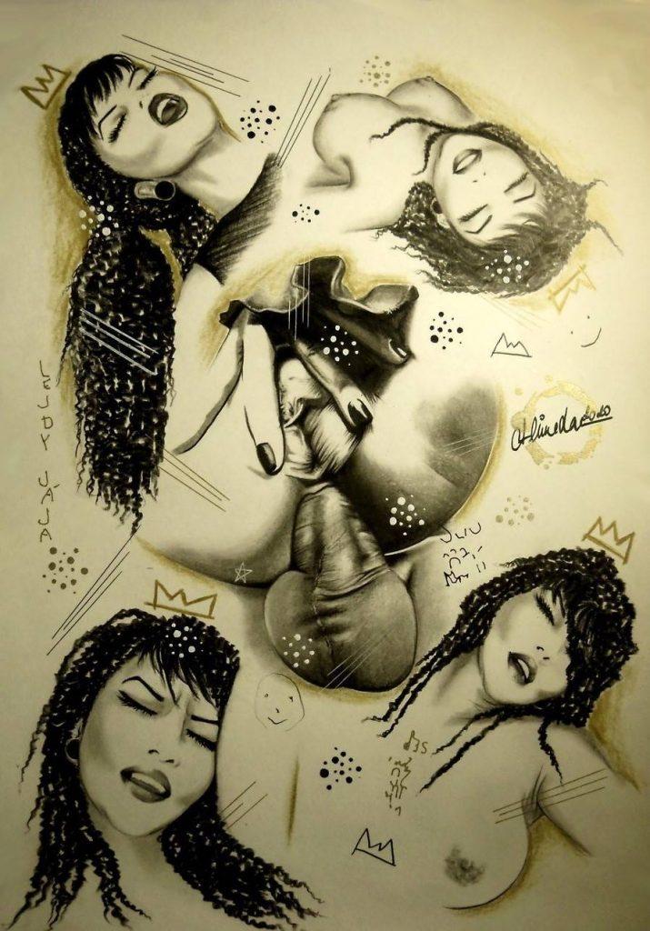 Pornografická a bdsm kresba duchom mladej a slobodnej Češky Sone Janusiczovej